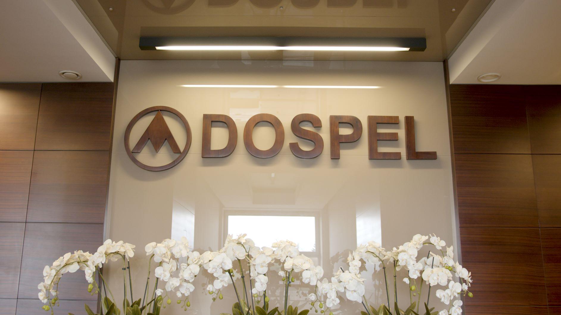 dospel, praca, wnętrze, biuro, lider wentylacji, wentylator, logo, kwiaty