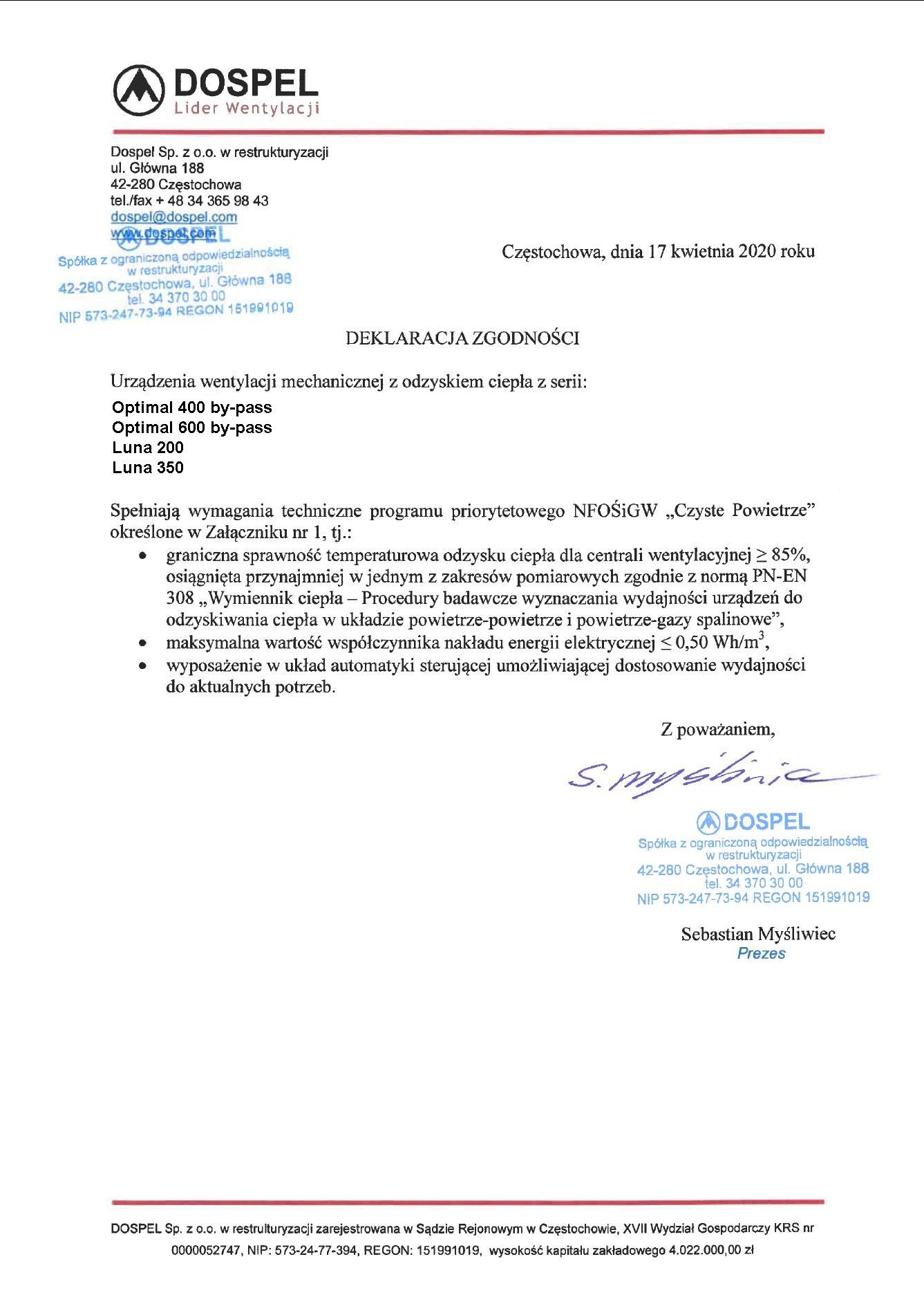 Instrukcja obsługi katalogu cennika Dosoel wentylacja